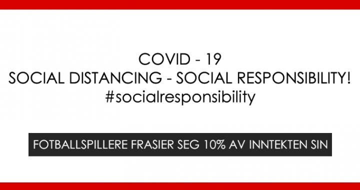 Social Distancing – Social Responsibility!